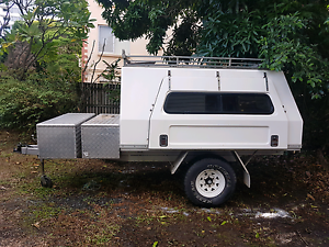 Tradesman /camper heavy duty trailer project. Coorparoo Brisbane South East Preview