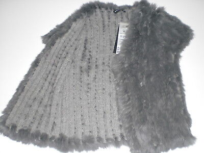 Weihnachten Weste (Blacky Dress Berlin, Luxus  Kaninchenfell Weste Gr.38 (ev. auch 36) Weihnachten)