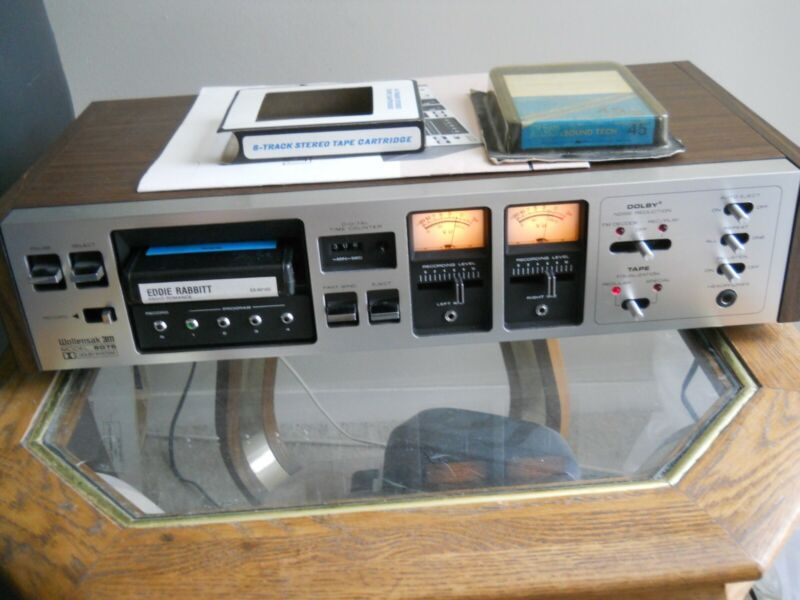 Panasonic 8-Track Recorder/Player, Excellent Condition