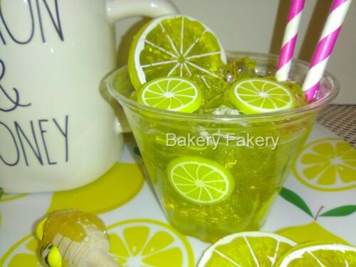 Lemonade Drink Prop, Faux Lemonade Drink For Your Tiered Trays