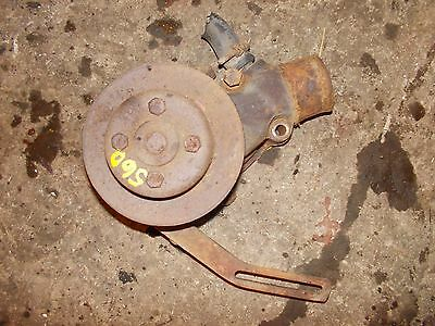 Farmall 560 Gas Tractor Ih Ihc Engine Motor Water Pump Assembly Pulley Brack