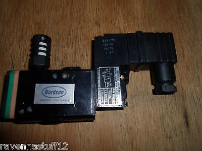 Nordson 1056120 Pneumatic Valve 120 Vac New No Box