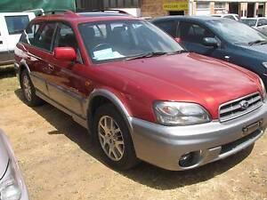 Excellent AWD 2001 Subaru Outback Wagon - see images Kensington Bundaberg Surrounds Preview
