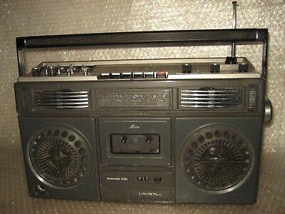 Crown Professional GT  Radio Kassettenrecorder Ghettoblaster 70- 80er Jahre