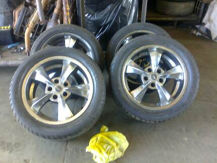 17x8 Wheels Ford Falcon XY XA EF EL Salisbury Salisbury Area Preview