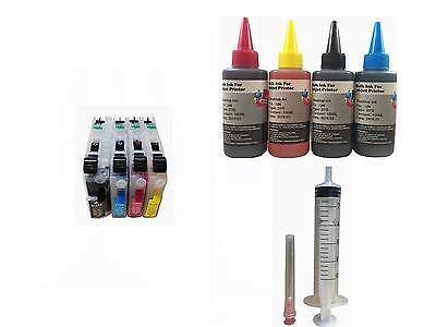 Refillable Ink Cartridges Kit For Brother Lc71 Lc40 Lc73 ...