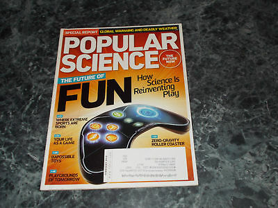 Popular Science Magazine February 2012 Impossible toys
