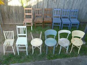 Vintage Kitchen Chairs - various chairs, various prices Coopers Plains Brisbane South West Preview