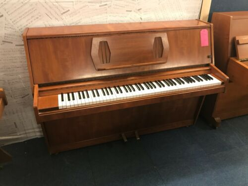 Challen 988 Upright Piano - Mahogany Finish - Model 988 - WE CAN DELIVER