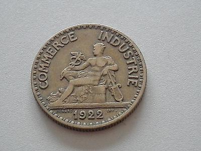 Bon pour 2 francs - 1922 - Chambres de commerce de France - KM#877 - TTB