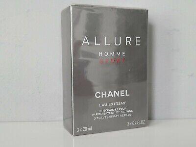 Chanel Allure Homme Sport Eau Extreme SET 3 x 20 ml Eau...
