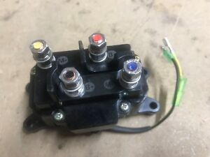 ATV UTV Winch 12V Solenoid Relay Contactor Switch - WARN SUPERWINCH KFI PROMARK