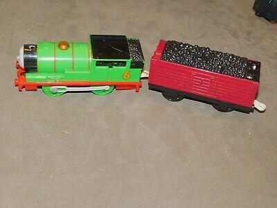 THOMAS TANK ENGINE & FRIENDS TALKING PERCY TRACKMASTER ENGINE COAL TENDER 2009