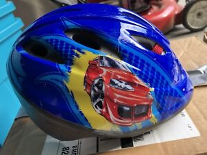 Kids Hotwheels Bike Helmet