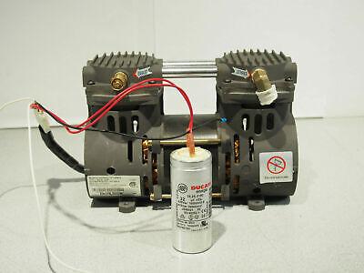Devilbiss Zw280d2-751.4 Air Vacuum Compressor Pump 20-26 In Hg 30-45 Psi