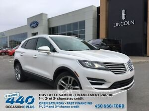 2016 Lincoln MKC RESERVE | 2.3L AWD CUIR TOIT PANO NAVIGATION