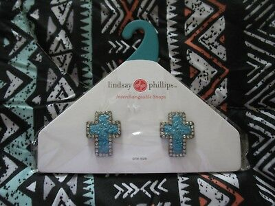 Lindsay Phillips Pair of Opaline Shoe Snaps - Last One & Rare!    NIP