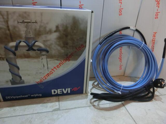 DEVIpipeheat 10(DPH) Rohrbegleitheizung Heizband 80 Watt, 8 m Art.- Nr. 98300074