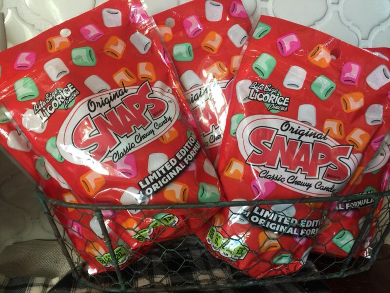 Old Fashioned Candy- Snaps Original Licorice Candy