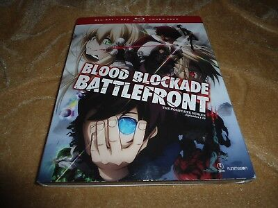 Blood Blockade Battlefront: The Complete Series (2 Blu-ray / 2 DVD Combo)