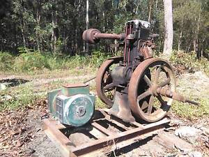 Lister 6hp Diesel motor/generator Round Hill Gladstone Area Preview