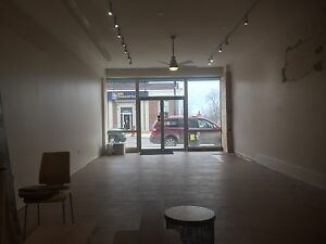 Retail space for lease in downtown Port Dover