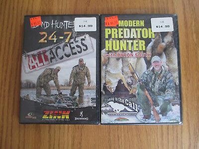 MODERN PREDATOR HUNTER + BAND HUNTER 24-7 ALL ACCESS - DUCK HUNTING - DVD 2 PACK