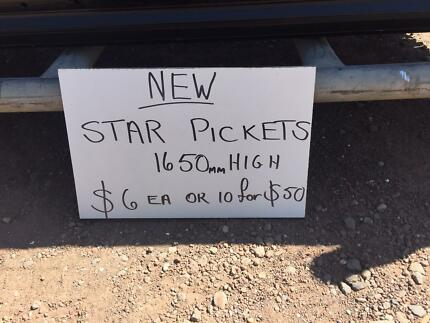 STAR PICKETS - NEW - HEAVY DUTY - CHEAP Broadmeadows Hume Area Preview