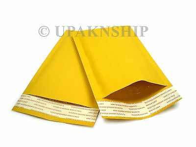 1000 000 Kraft Bubble Mailers Padded Envelopes 4.25x8 X Wide Expedited Ship