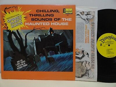 Chilling Thrilling Sounds of Halloween Haunted House Disney LP 1973 NM-  Liner (Haunted Halloween Sounds)