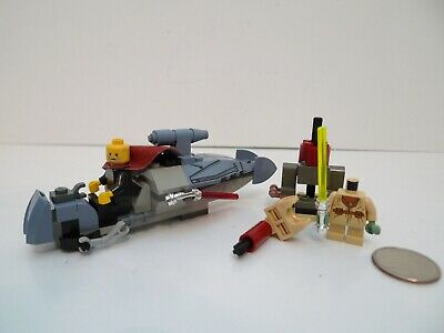 Lego Star Wars Jedi Duel 7103 Count Dooku / Yoda Speeder Set Lot !!!