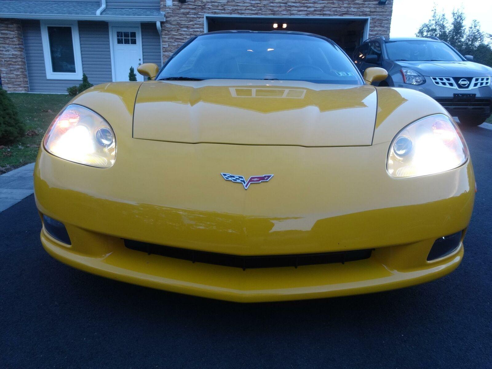 2005 Yellow Chevrolet Corvette     C6 Corvette Photo 7