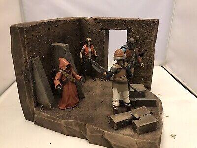 Action Figure Diorama: Desert Fortress Corridor G.I.Joe Star Wars Acid Rain
