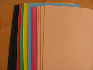 100 foamy sheets eva foam sheets for fofuchas doll craft for Red craft foam sheets