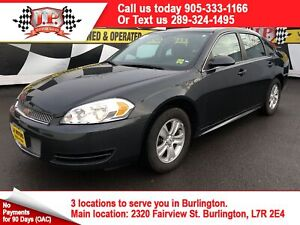 2013 Chevrolet Impala LS, Automatic, Power Group