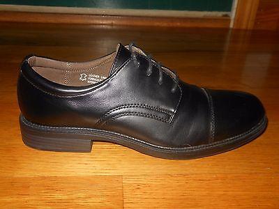 Dexter Archer men's cap toe shoes - Sz 10 M - Euro sz 43 - Black - Worn once - Archer Shoes
