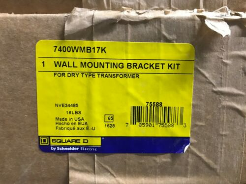 Square D (7400WMB17K) Transformer Wall Mounting Kit *New In Box, Free Shipping*