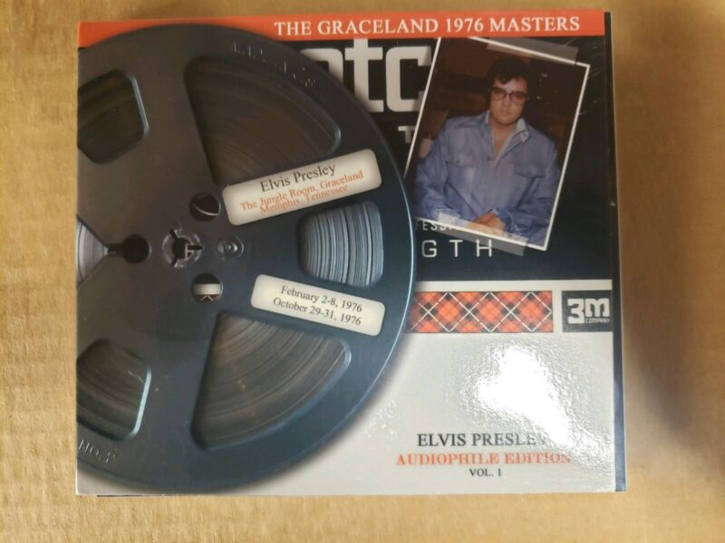 Elvis Presley - The Graceland 1976 Masters CD . Rare and out of print.