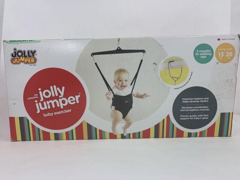 Jolly Jumper Exerciser with Door Clamp, Black NOB