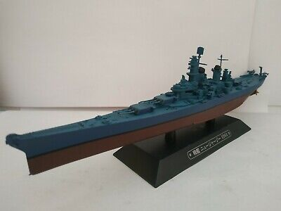 1/1100 NEW JERSEY 1944 GUERRA MUNDIAL WW BARCO COMBATE ESCALA SCALE BOAT...