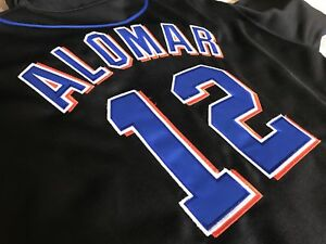 Roberto Alomar #12 Authentic Jersey - Stitched