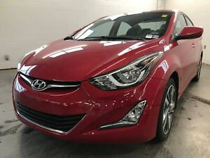 2015 Hyundai Elantra Limited- BACKUP CAM! HEATED SEATS! SUNROOF!