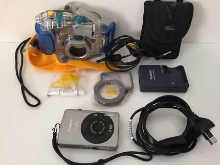 Canon Digital IXUS 75 + WP-DC14 Waterproof Case