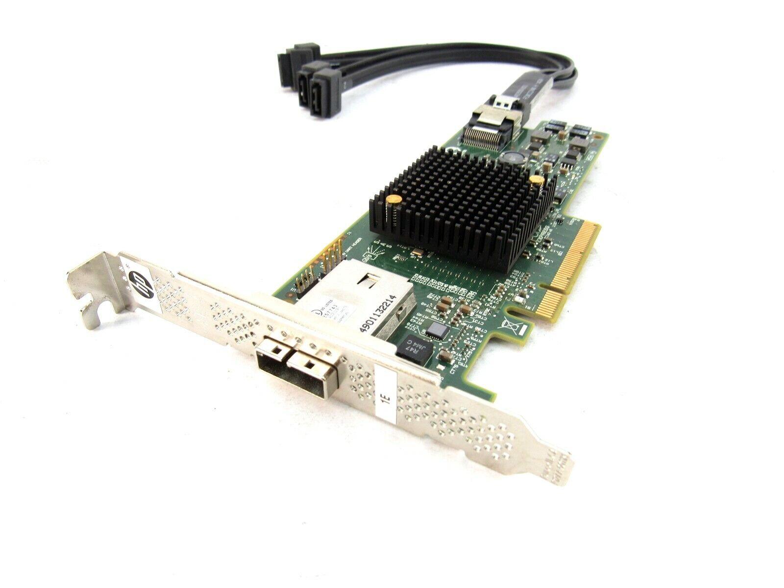 Details about HP SAS9217-4i4e PCIe x8 6GB SAS RAID Controller 725904-001