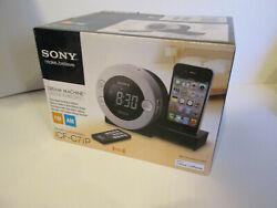 Sony Dream Machine ICF-C7IP AM/FM Radio iPod iPhone Dock Alarm Clock▪IN BOX