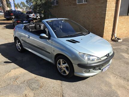 "2003 Peugeot 206CC Convertible ""FREE 1 YEAR WARRANTY"" Queens Park Canning Area Preview"