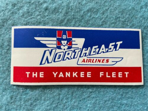 Vintage Northeast Airlines Sticker
