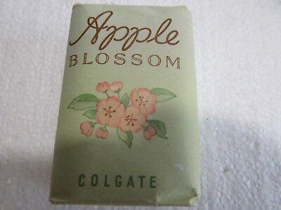 Vintage Apple Blossom Bar of Soap by Colgate - Colgate Palmolive Bar Soap