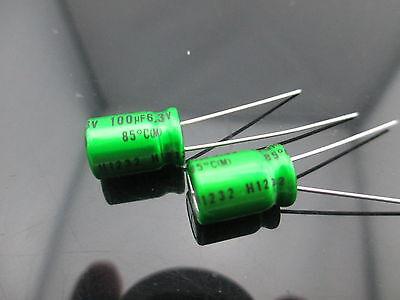 12japan Nichicon Muse Es Bp 100uf 6.3v 100mfd Audio Capacitor Caps