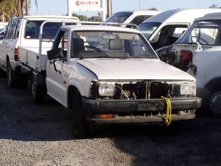 WRECKING MAZDA B2600 2WD SINGLE CAB UTE 2.6 MANUAL ALLOY TRAY UF
